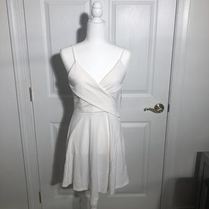Tobi Into You White Skater Dress